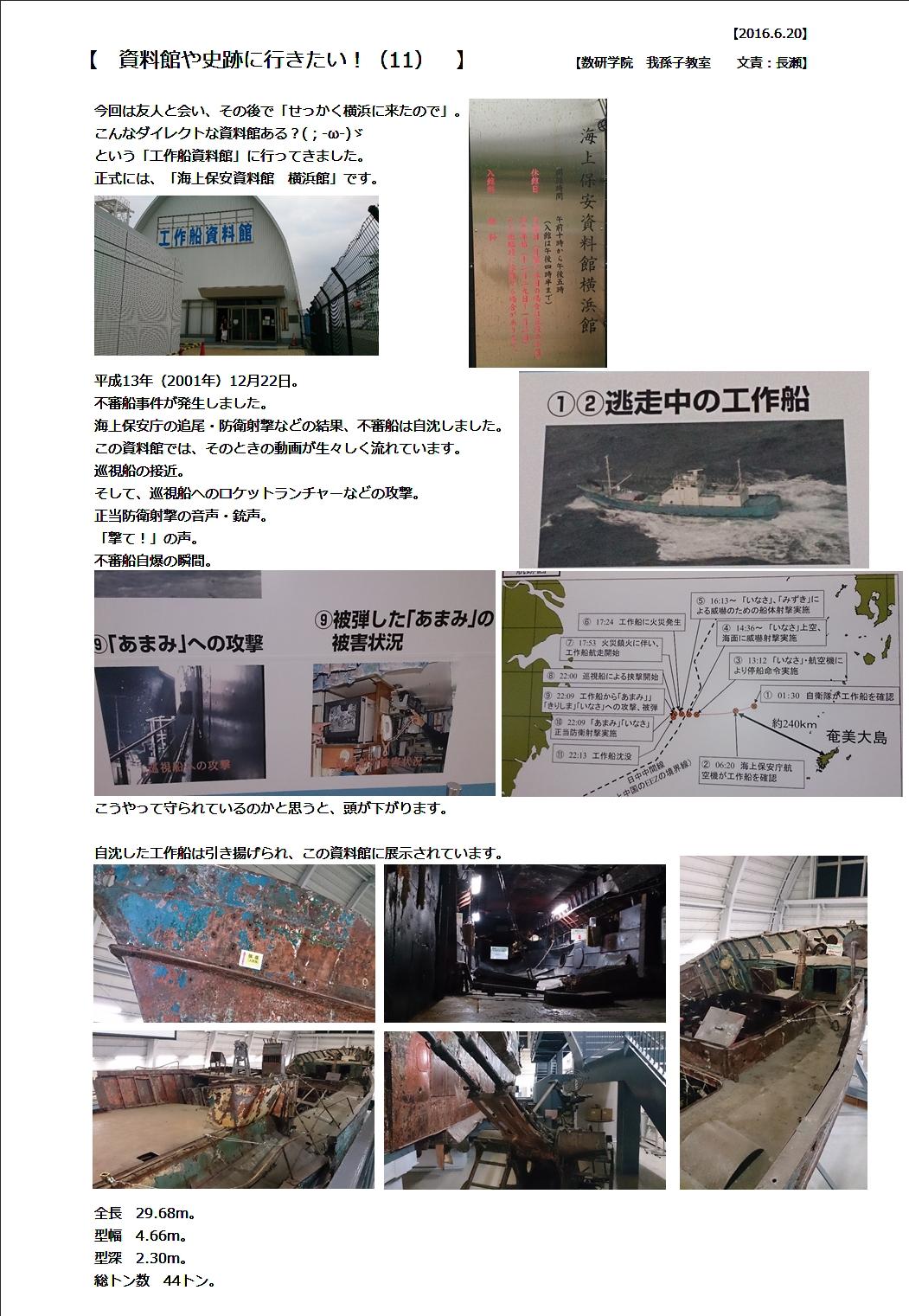 2016.6.19工作船資料館①